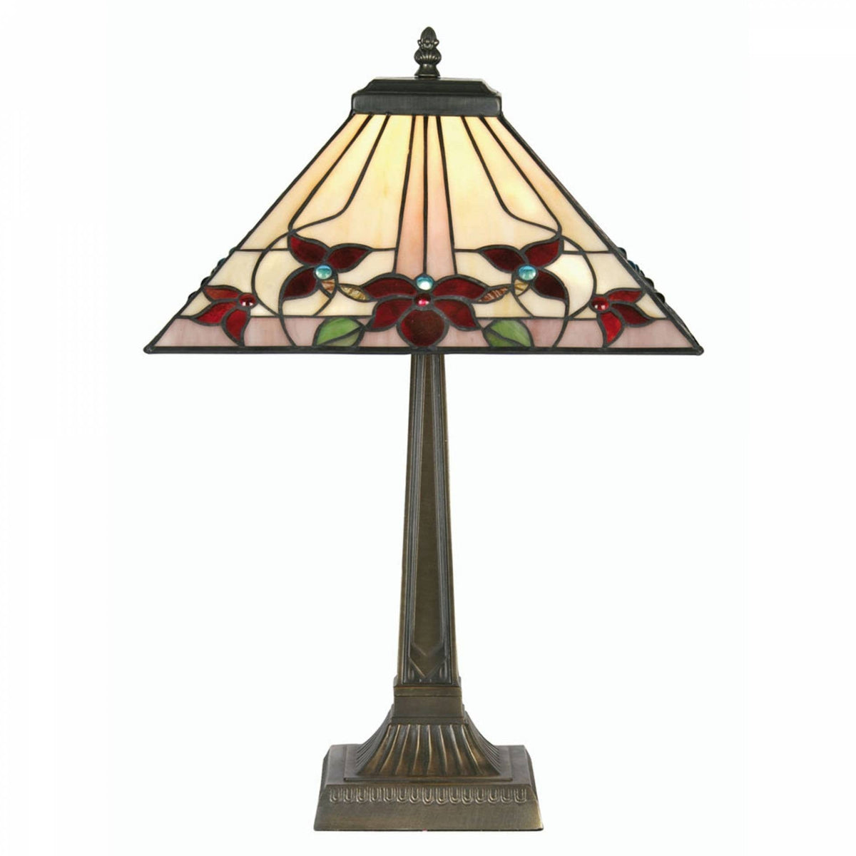 Medium Tiffany Lamps - Camillo Tiffany Table Lamp OT 3589/14TL