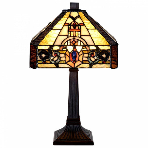 Medium Tiffany Lamps - Jesmond Tiffany Lamp
