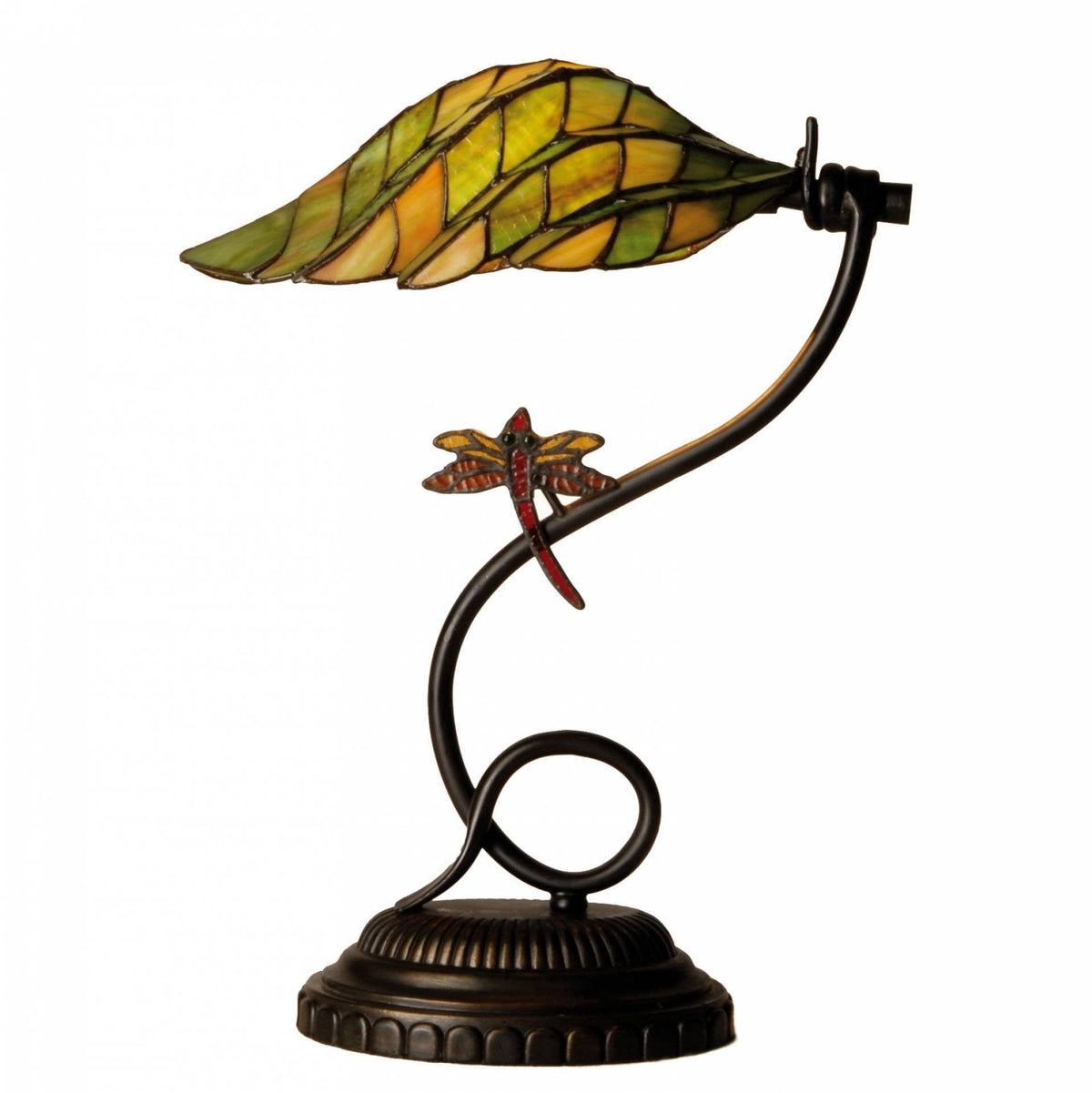 Medium Tiffany Lamps - Oakham Tiffany Table Lamp