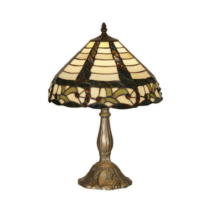Medium Tiffany Lamps - Oaks Tiffany Sawyer Medium Table Lamp OT 7020 12TL