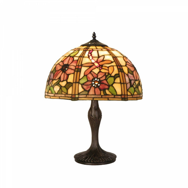 Medium Tiffany Lamps - Pavot Medium Tiffany Table Lamp