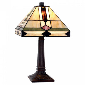 Medium Tiffany Lamps - Peterborough Tiffany Table Lamp