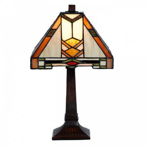 Medium Tiffany Lamps - Prairie Tiffany Table Lamp