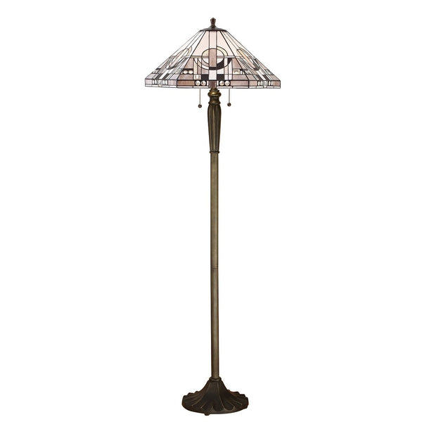 Metropolitan Tiffany Floor Lamp (FB05 base) by Interiors 1900