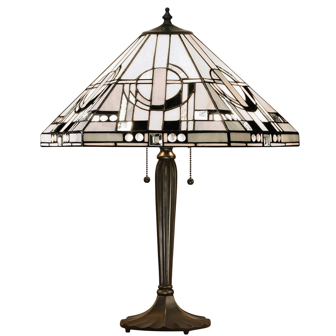 Metropolitan Tiffany Table Lamp (TB05L Base) by Interiors 1900
