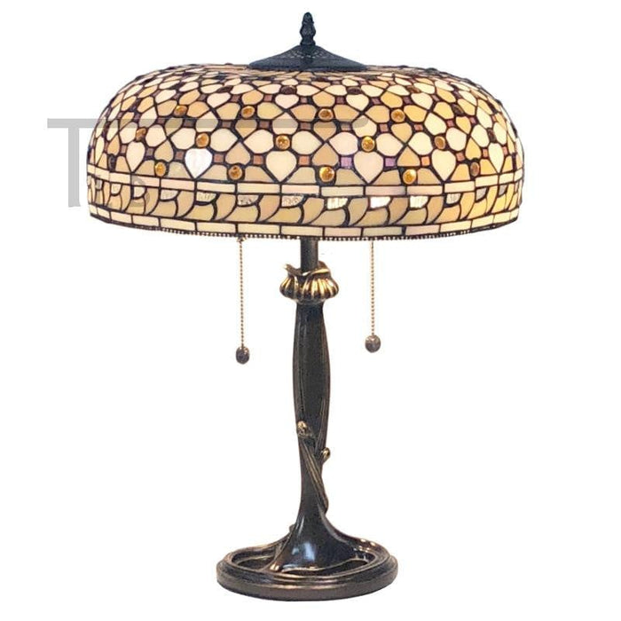 Mille Feux 2 Light Tiffany Lamp 64279