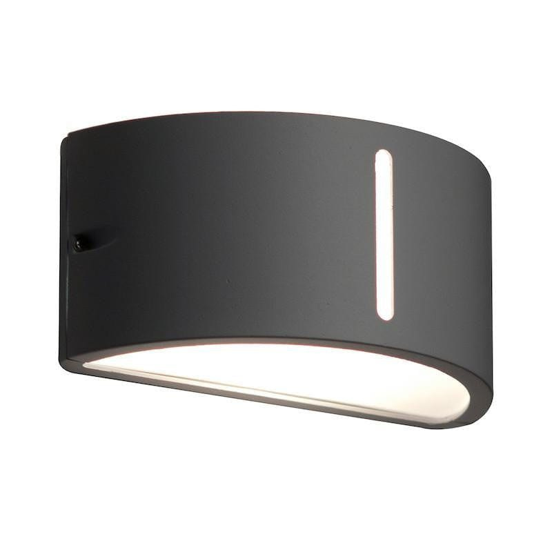 Elstead Bonn Graphite Outdoor Wall Light