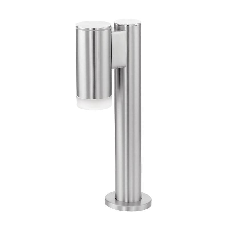 Eglo Riga Stainless Steel Finish Outdoor LED Downlighter Pedestal Light 92737 by Eglo Outdoor Lighting