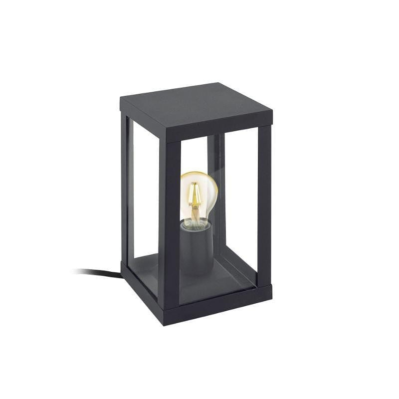 Eglo Alamonte Black Finish Outdoor Table Light 94789 by Eglo Outdoor Lighting