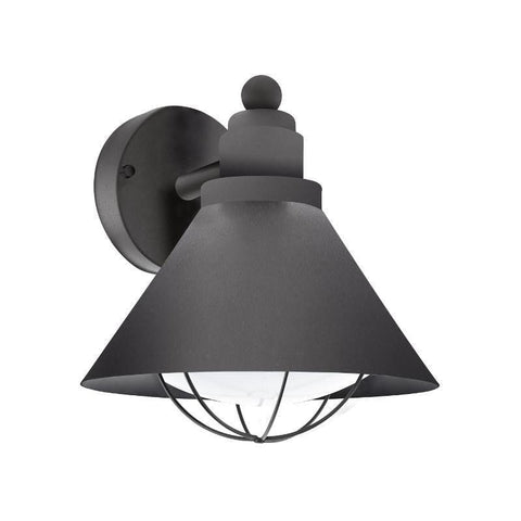 Eglo Barrosela Black Finish Outdoor Wall Light 94805