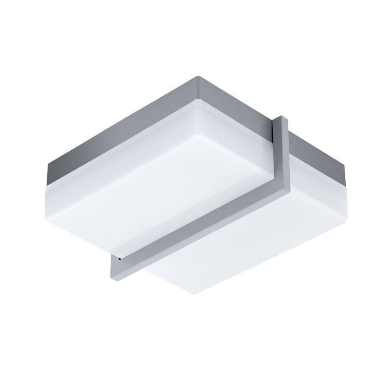 Eglo Sonella 1 Anthracite Finish Outdoor LED Ceiling Light 94876 by Eglo Outdoor Lighting
