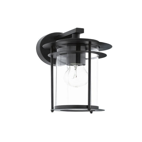Eglo Valdeo Black Finish Outdoor Wall Light 96239