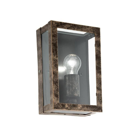 Eglo Alamonte 2 Antique Copper Finish Outdoor Wall Light 96272
