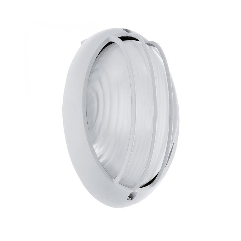 Eglo Siones White Finish Outdoor LED Flush Ceiling/Wall Light 96338 by Eglo Outdoor Lighting
