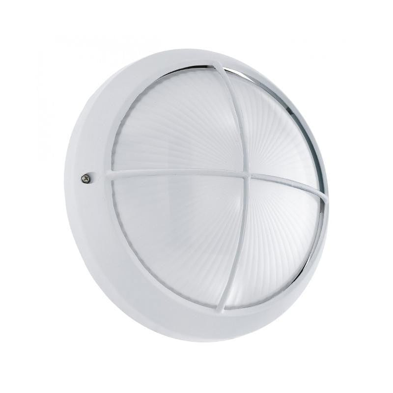 Eglo Siones White Finish Outdoor LED Flush Ceiling/Wall Light 96341 by Eglo Outdoor Lighting