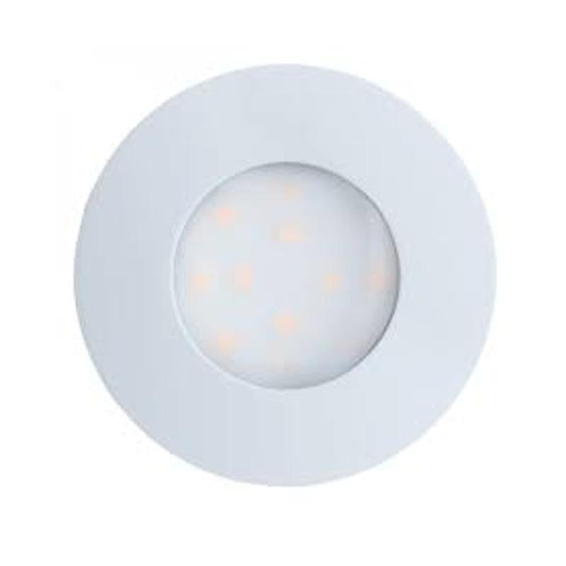 Eglo Pineda-IP White Finish Outdoor LED Recessed Ceiling Light 96414 by Eglo Outdoor Lighting