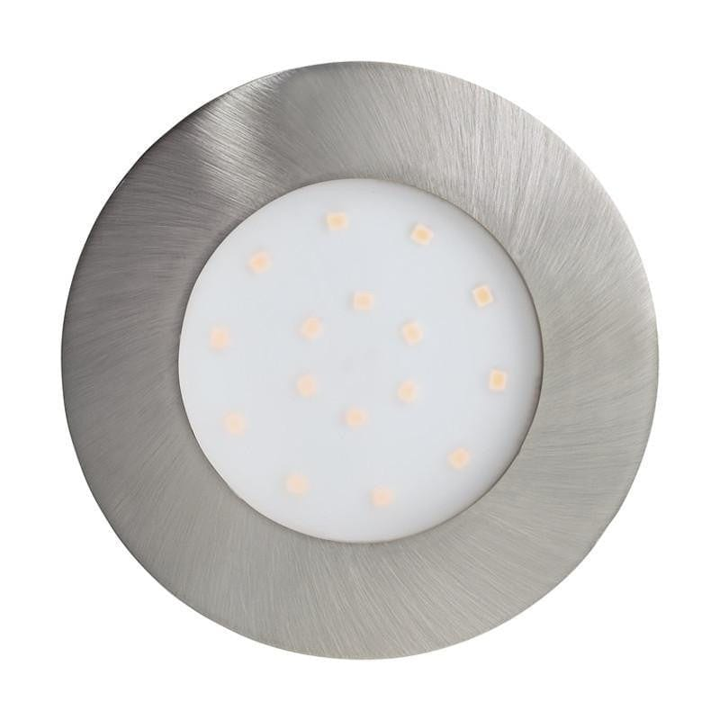 Eglo Pineda-IP Stainless Steel Finish Large Outdoor LED Recessed Ceiling Light 96417 by Eglo Outdoor Lighting