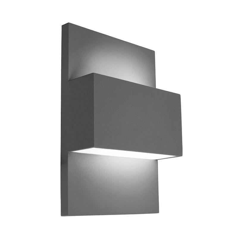 Elstead Geneve Aluminium Outdoor Wall Light