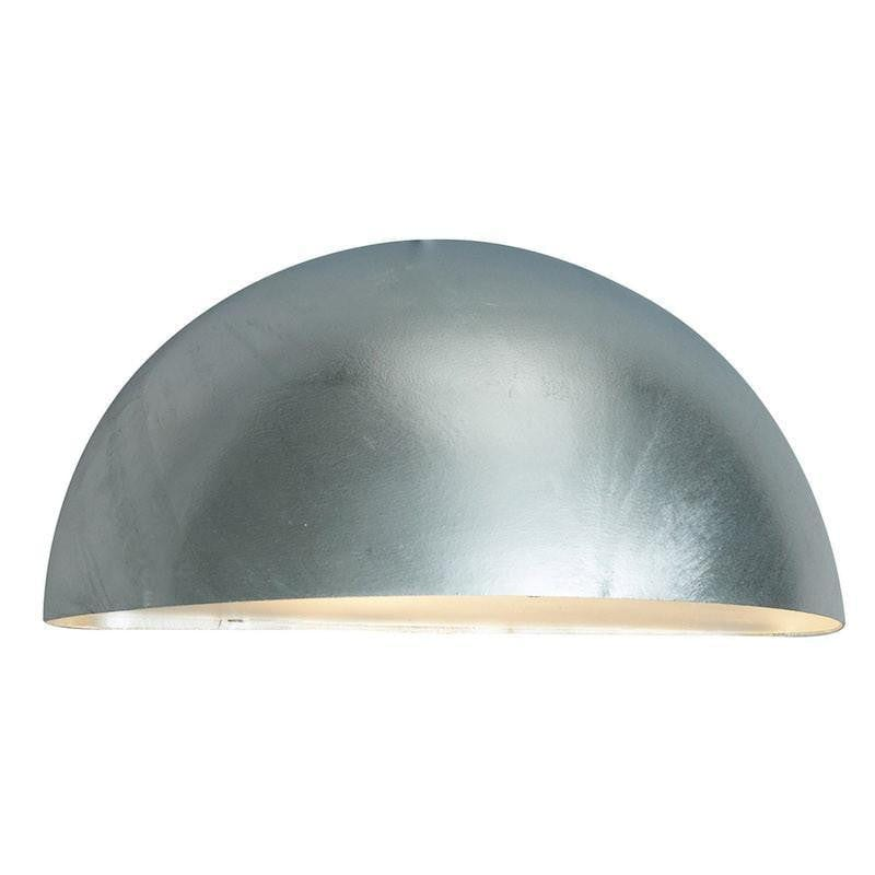 Elstead Paris Galvanised Outdoor Wall Light