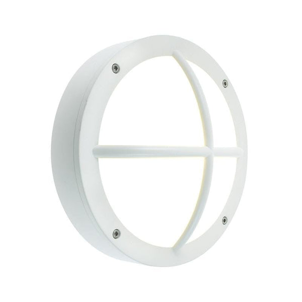 Elstead Rondane White Outdoor Wall Light