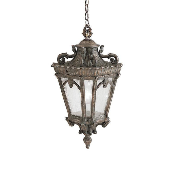 Elstead Tournai Londonderry Finish Medium Outdoor Pendant Lantern