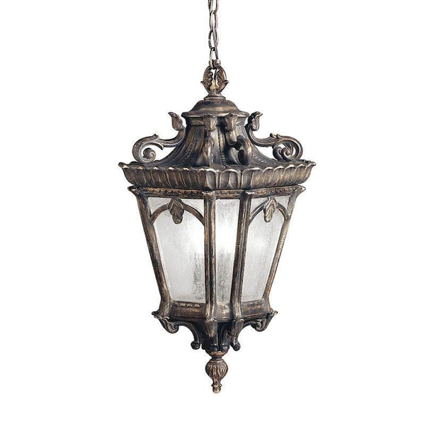 Elstead Tournai Londonderry Finish Extra Large Outdoor Pendant Lantern