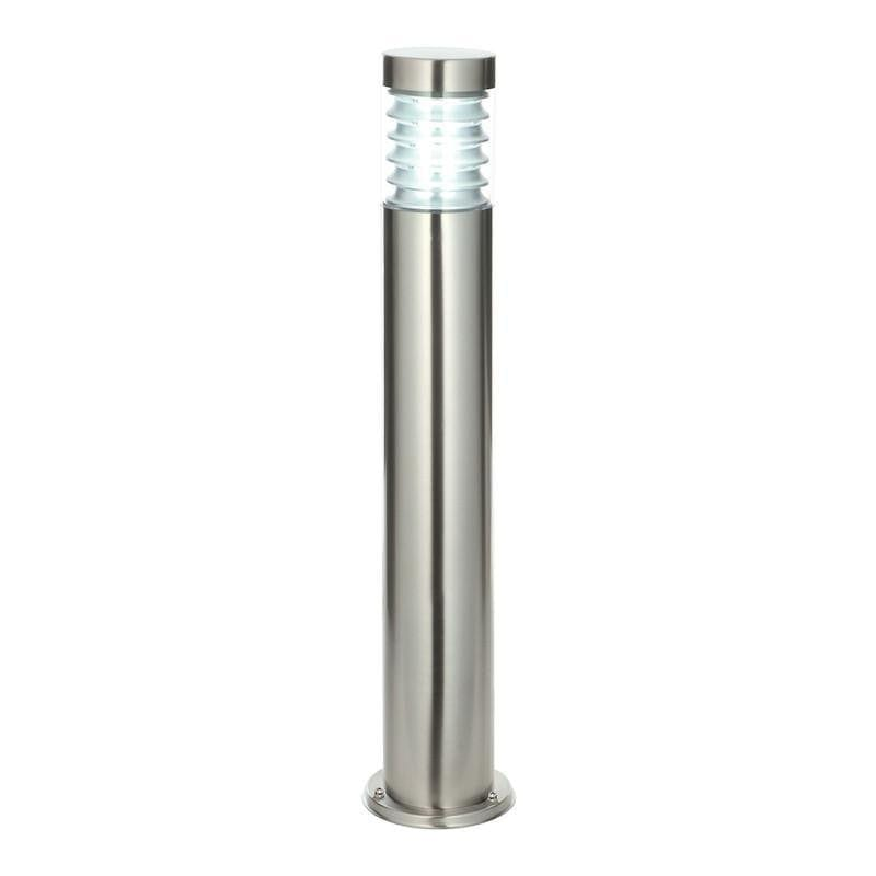 Endon Equinox Brushed Steel Finish Outdoor Bollard Light