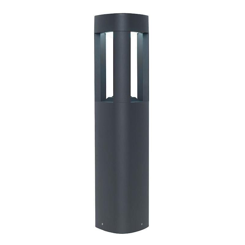 Endon Tribeca Grey Finish LED Outdoor Post Light