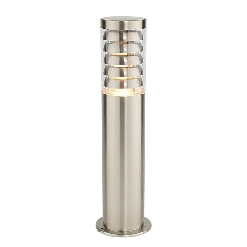 Endon Tango Brushed Stainless Steel Finish Outdoor Post Light 13922