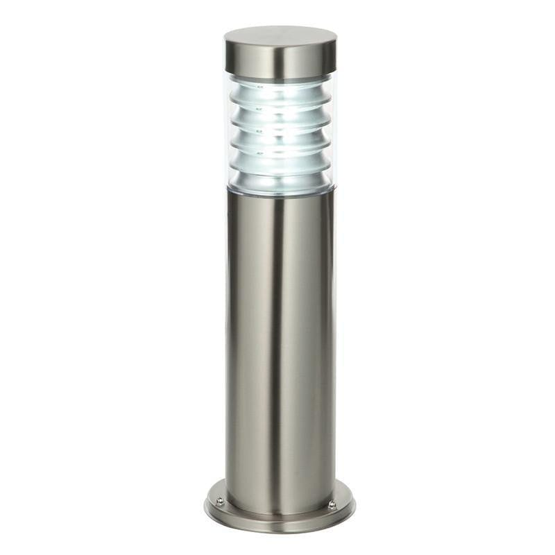 Endon Equinox Brushed Steel Finish Outdoor Post Light
