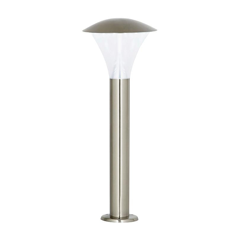 Endon Francis Brushed Stainless Steel Finish Outdoor Post Light EL-40069