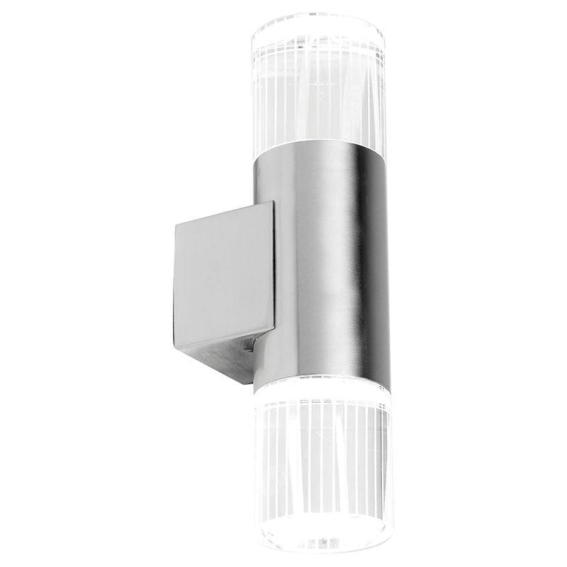 Endon Grant Polished Stainless Steel Finish Outdoor Wall Light YG-7501
