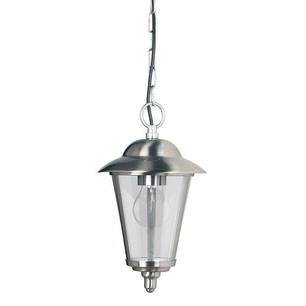 Endon Klien Polished Stainless Steel Finish Outdoor Pendant Light YG-865-SS