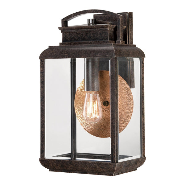 Elstead Byron Imperial Bronze Finish Large Outdoor Wall Lantern
