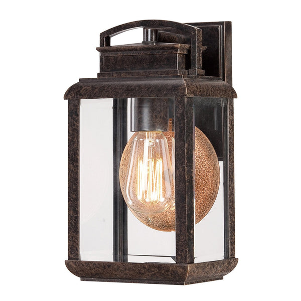 Elstead Byron Imperial Bronze Finish Small Outdoor Wall Lantern