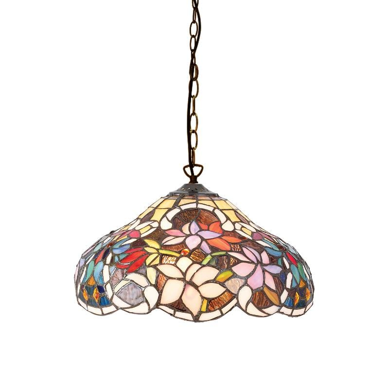 Sullivan Small Tiffany Ceiling Light by Interiors 1900