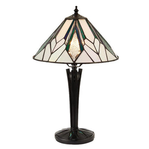 Tiffany Bedside Lamps - Astoria Small Tiffany Table Lamp 70365