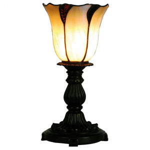 Tiffany Bedside Lamps - Edinburgh Torchiere Tiffany Bedside Lamp