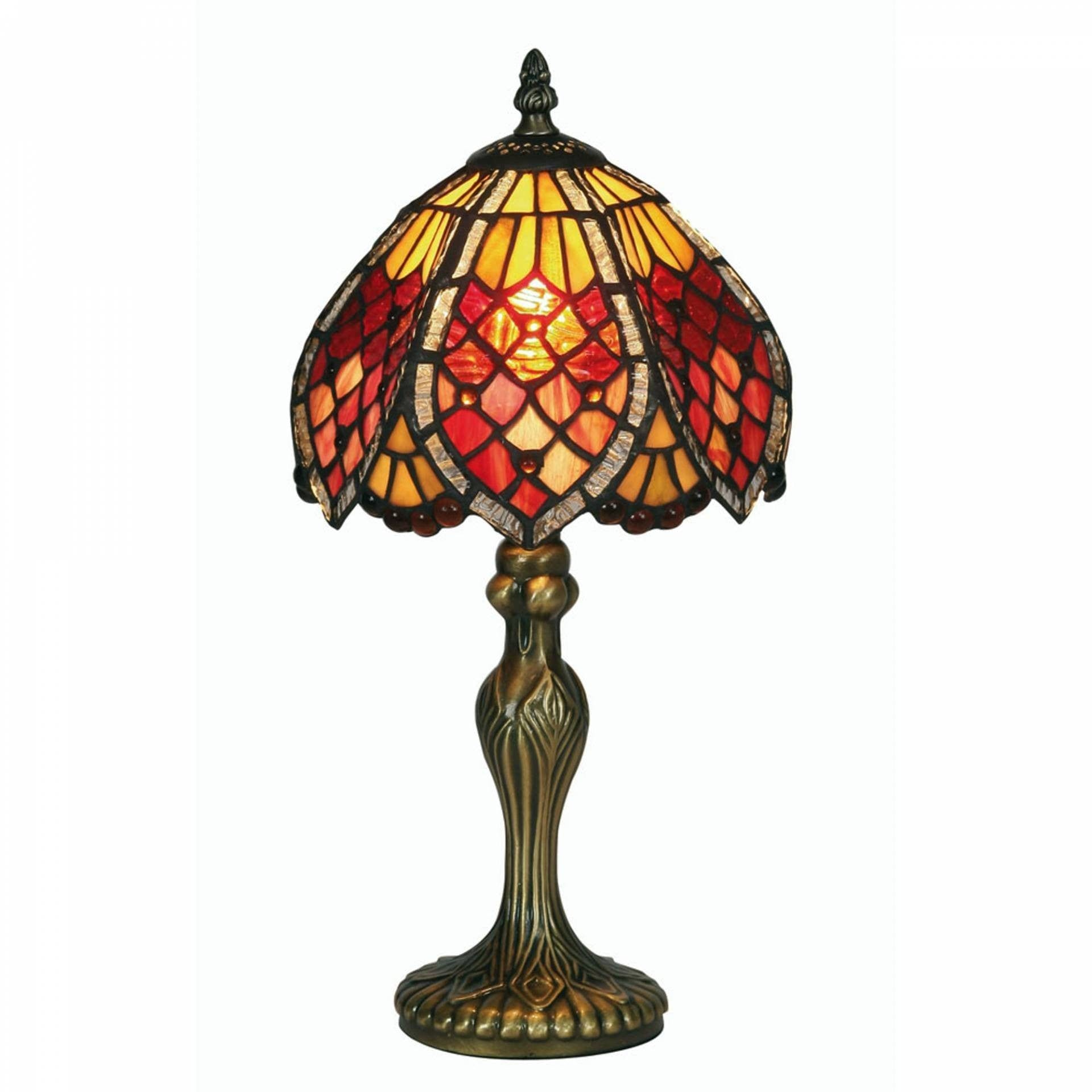 Tiffany Bedside Lamps - Oaks Tiffany Orsino Tiffany Lamp OT 1318/8TL