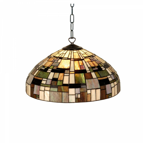 Tiffany Ceiling Pendant Lights - Falling Water Tiffany Ceiling Light, Single Bulb Fitting