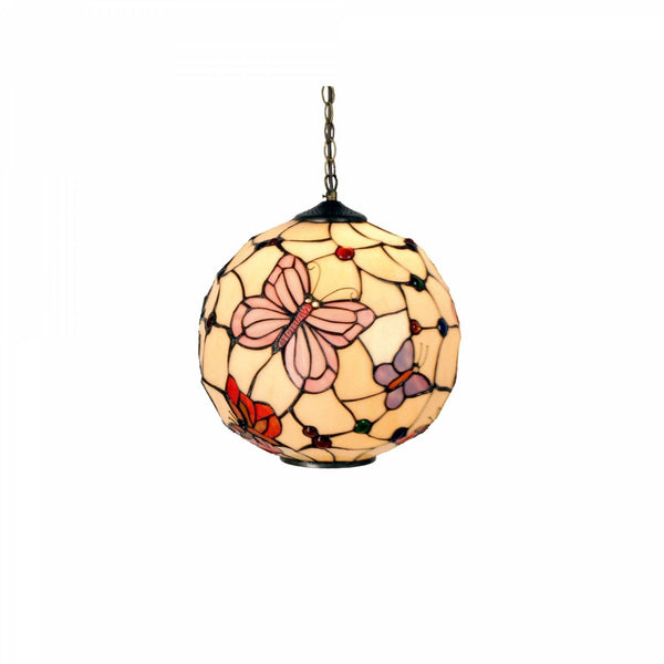 Tiffany Ceiling Pendant Lights - London Tiffany Globe Pendant Light