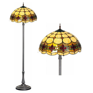 Tiffany Floor Lamps - Atlantic Tiffany Floor Lamp