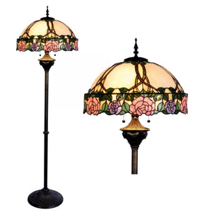 Tiffany Floor Lamps - Driscoll Tiffany Floor Lamp