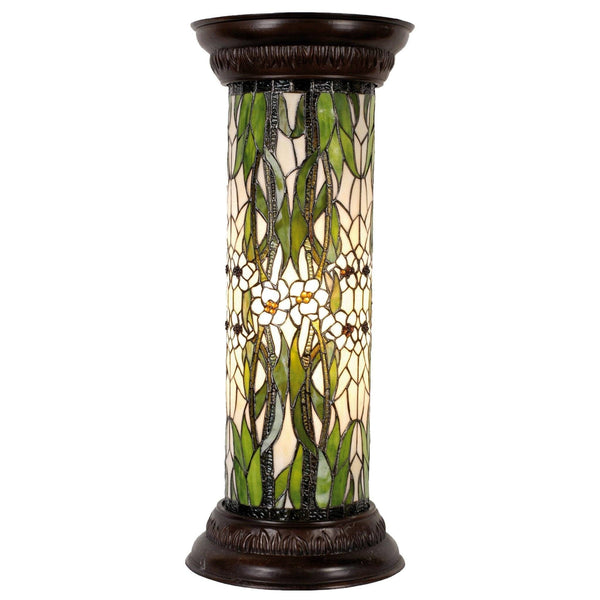 Tiffany Floor Lamps - Margerite Tiffany Jardiniere Floor Lamp
