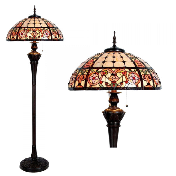 Tiffany Floor Lamps - Norfolk Tiffany Floor Lamp