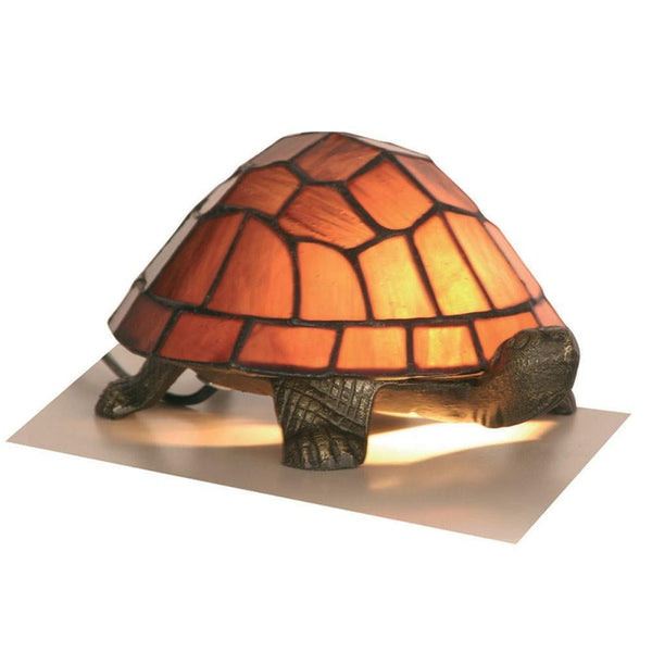 Tiffany Gift Table Lamps - Oaks Tiffany Purple Tortoise Table Lamp OT 950 PU