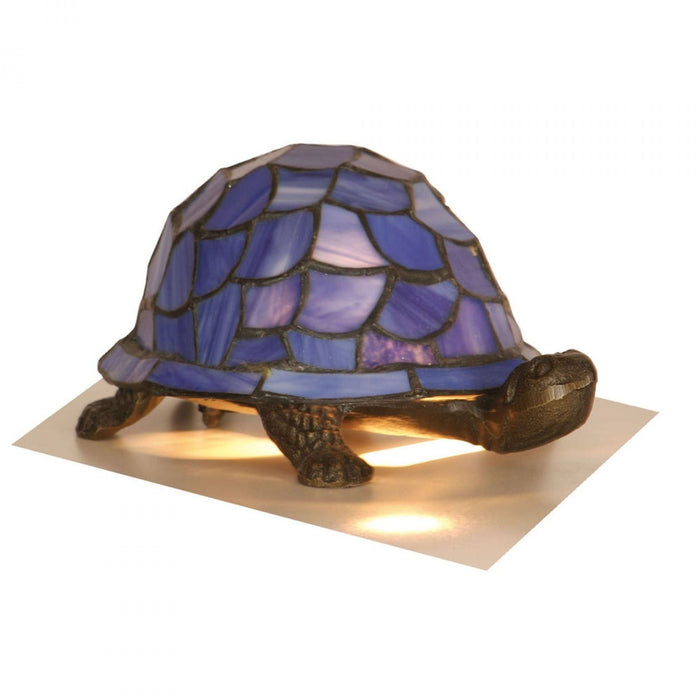 Tiffany Blue Tortoise Table Lamp OT 950 BL