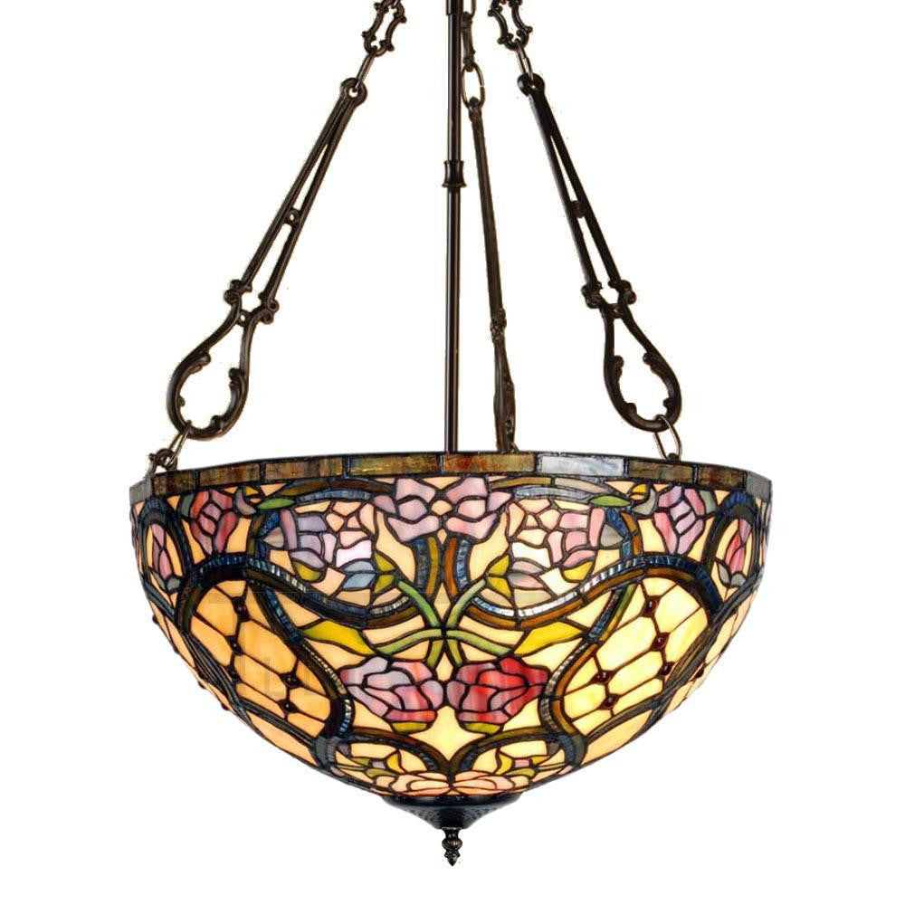 Inverted Ceiling Pendant Lights - Anders Large Inverted Ceiling Light (fancy Chain)