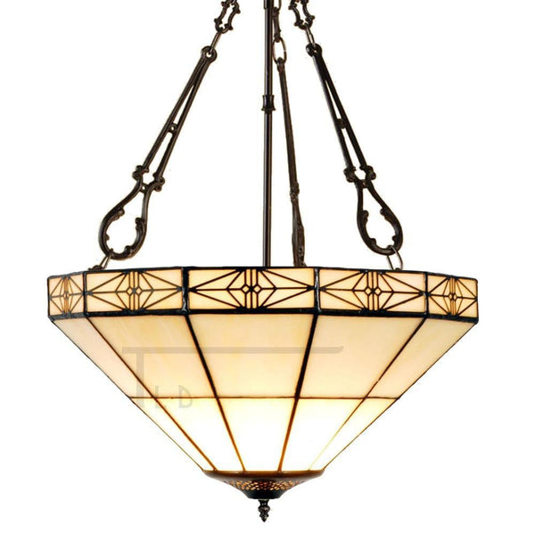 Inverted Ceiling Pendant Lights - Dorchester Inverted Pendant Light (fancy Chain)
