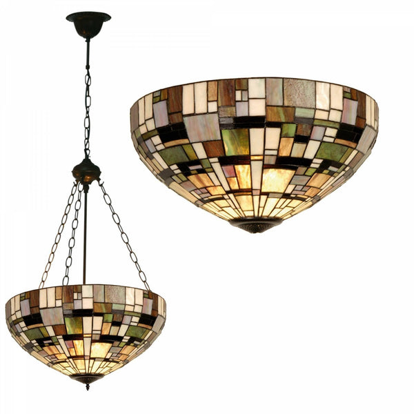 Inverted Ceiling Pendant Lights - Falling Water Inverted Ceiling Pendant Light (fancy Chain)